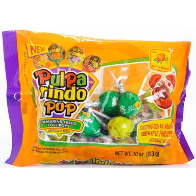 De La Rosa - Pulparindo Pop Assorted Lollipops 10 oz - Ole Rico