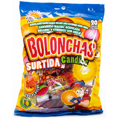 Dulces Mara - Mara Bolonchas Assorted Candies 20 pcs - Ole Rico