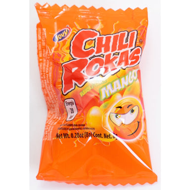 Jovy- Chili Rokas Mango Flavored Hard Candy 21 pcs - Ole Rico