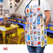 Loteria Two Pocket Mexican Bingo Cooking Apron - Ole Rico