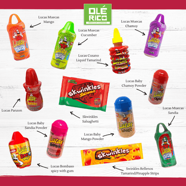Lucas Mexican Candy Assortment - Ole Rico