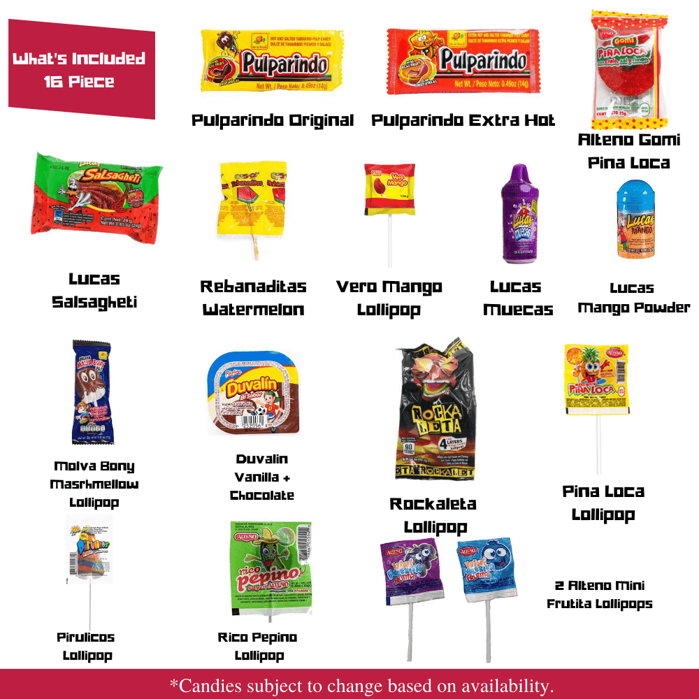 Mexican Candy Mix Assortment - Ole Rico