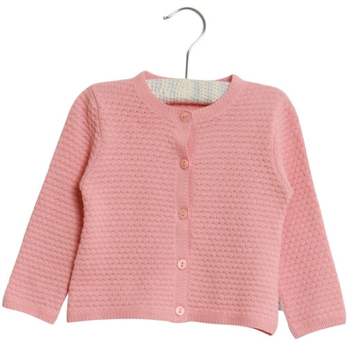 Wheat Betty Cardigan - Rose Tan