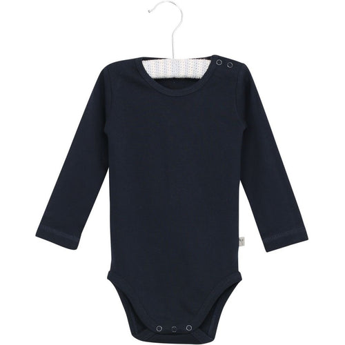 Wheat Bodysuit Long Sleeve - Navy