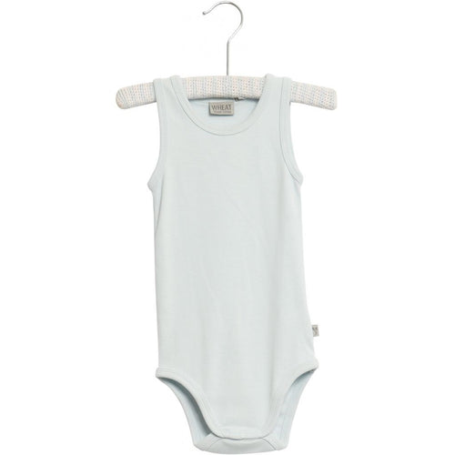 Wheat Bodysuit Sleeveless - Baby Blue