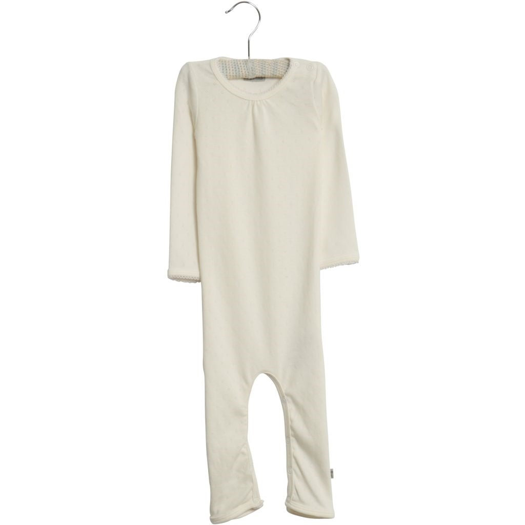 Wheat Gatherings Jumpsuit - Ivory