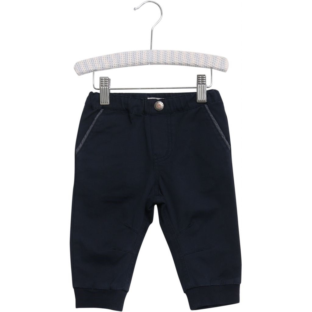 Wheat Kevin Trousers - Navy
