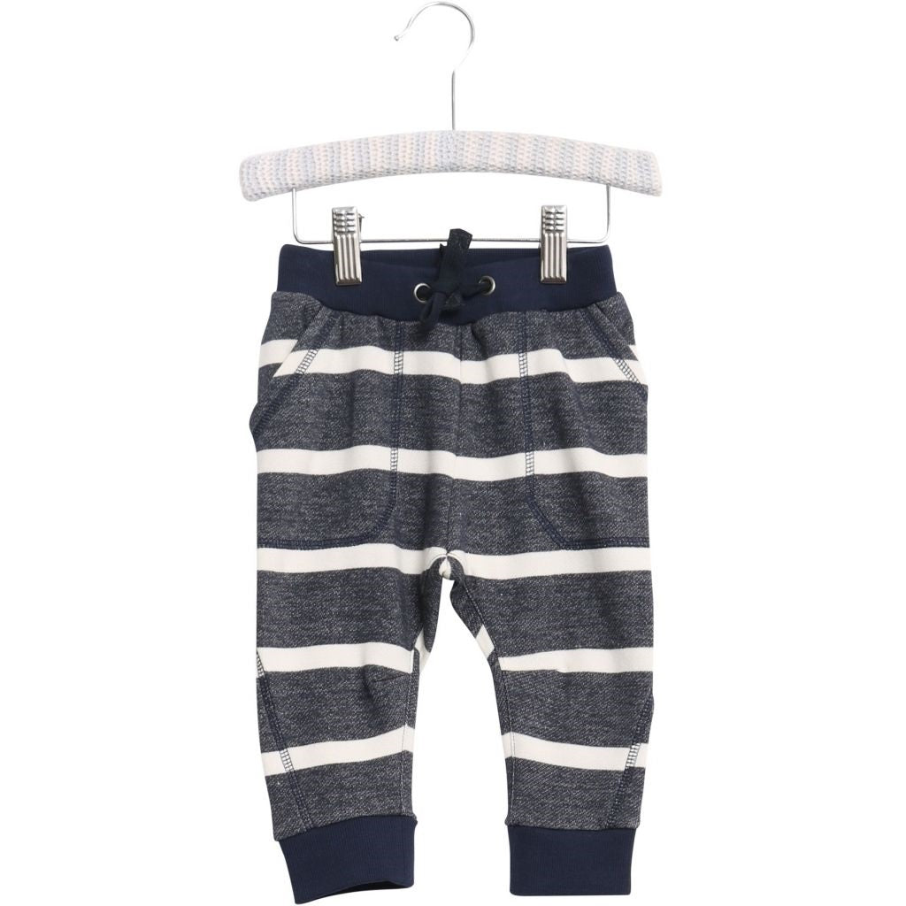 Wheat Sweatpant Felix - Navy