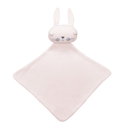 Mister Fly Comforter - Pink Bunny