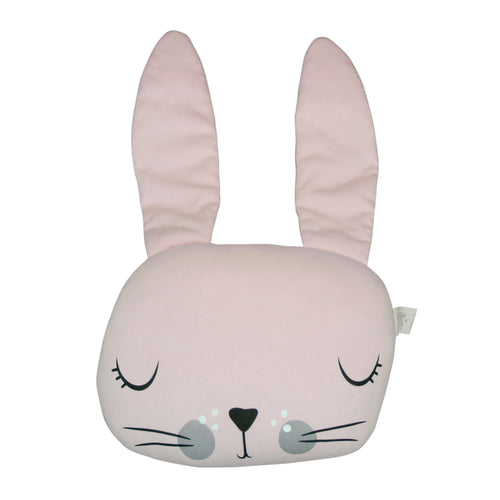 Mister Fly Pink Bunny Cushion