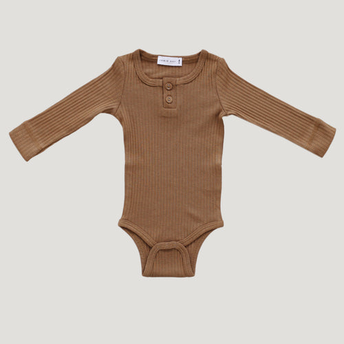 Jamie Kay Cotton Essentials Bodysuit - Bronze