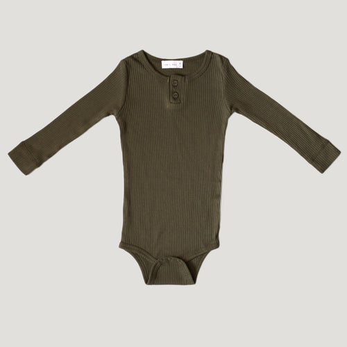 Jamie Kay Cotton Essentials Bodysuit - Olive