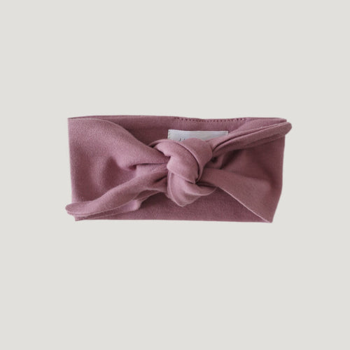 Jamie Kay Pima Cotton Headband - Nostagia Rose