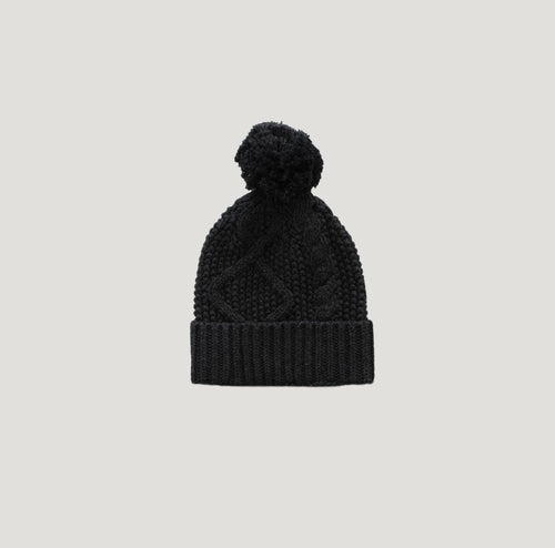 Jamie Kay Cable Knit Hat - Shadow Marle