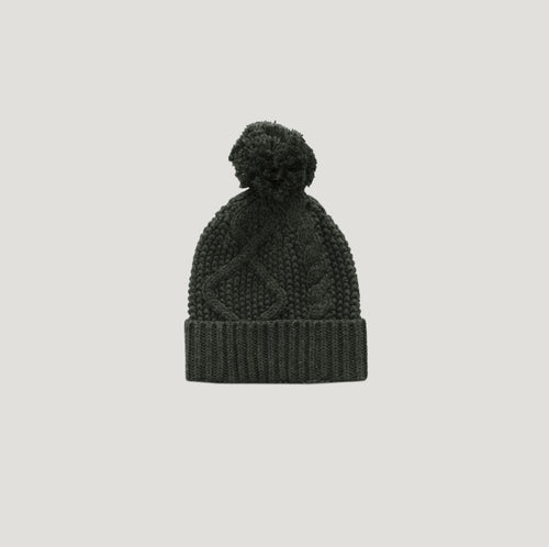 Jamie Kay Cable Knit Hat - Juniper
