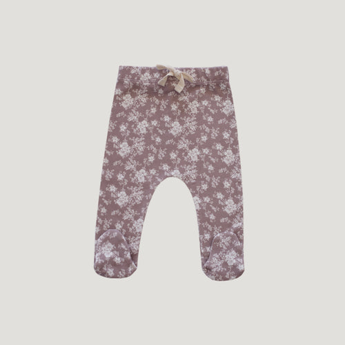 Jamie Kay Footed Pant - Fawn Floral