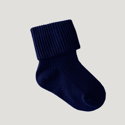 Jamie Kay Rib Socks - French Blue