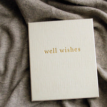 Write To Me Well Wishes Journal White - Guest Book