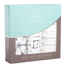 Aden & Anais Pebble Silky Soft Swaddles 3 Pack