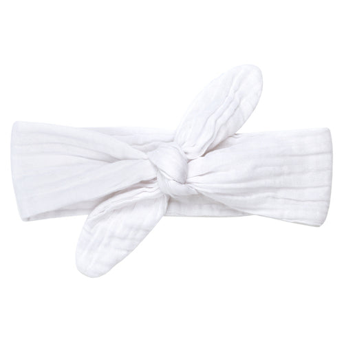 Numero 74 Romy Bow Headband - White