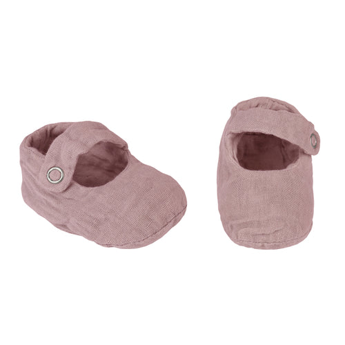 Numero 74 Sissi Baby Slippers - Dusty Pink
