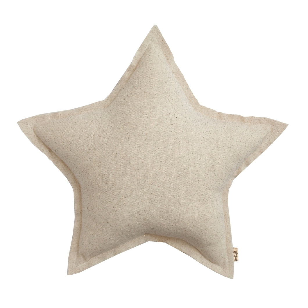 Numero 74 Star Cushion - Sparkling Tulle Natural