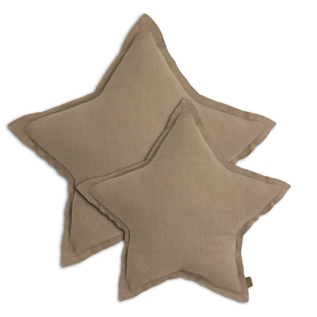 Numero 74 Star Cushion - Beige (2 Sizes)
