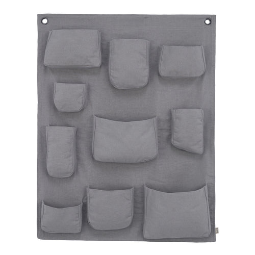 Numero 74 Wall Pocket - Stone Grey