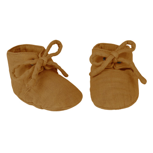 Numero 74 Yoghi Baby Slippers - Gold