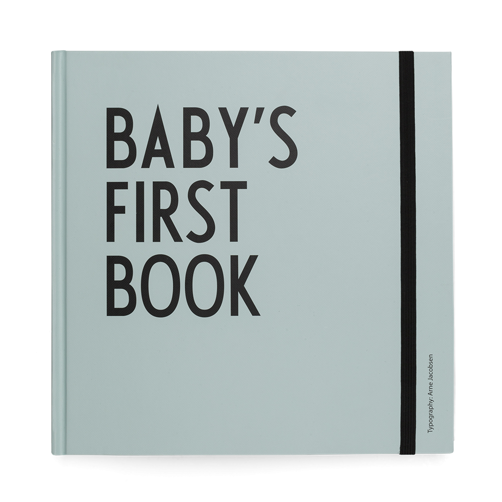 Design Letters Baby's First Book - Turquoise