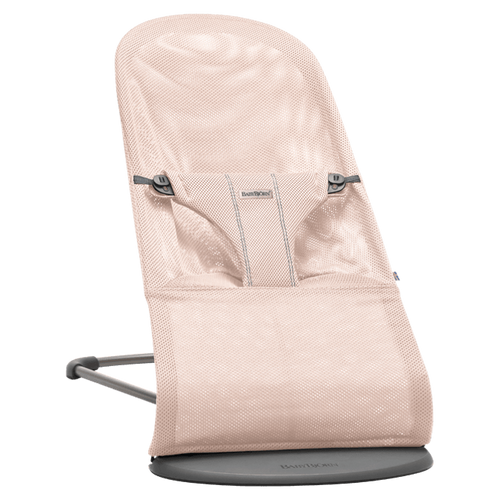 BabyBjorn Bouncer Bliss Air - Powder Pink Mesh