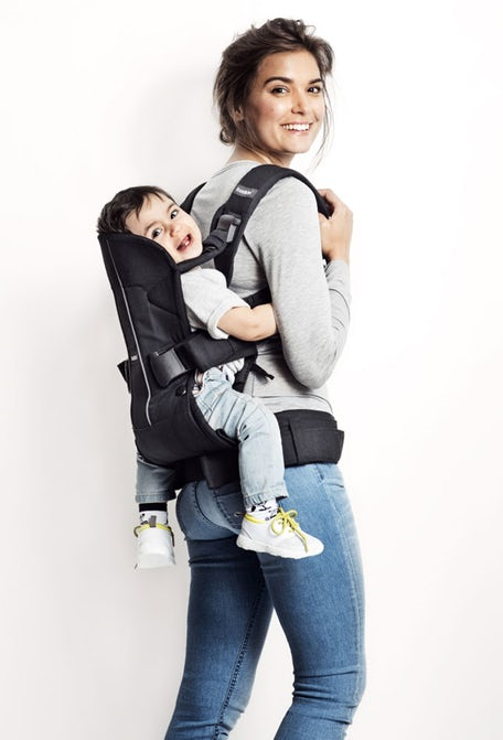 a38e6a189fc BabyBjorn Baby Carrier One - Classic Denim Midnight Blue – Little ...
