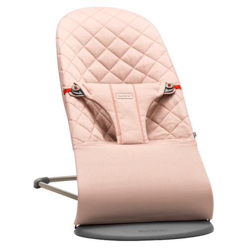 BabyBjorn Bouncer Bliss - Old Rose Cotton