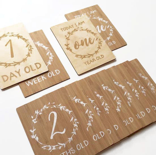 Arlo & Co Milestone Cards - Age Full Set
