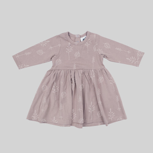 Buck & Baa Shadow Pink Dress
