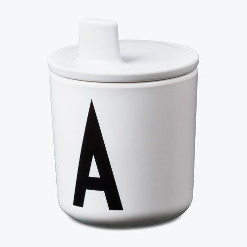 Design Letters Drink Lid - White