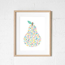Sprout and Sparrow Yummy Pear Print