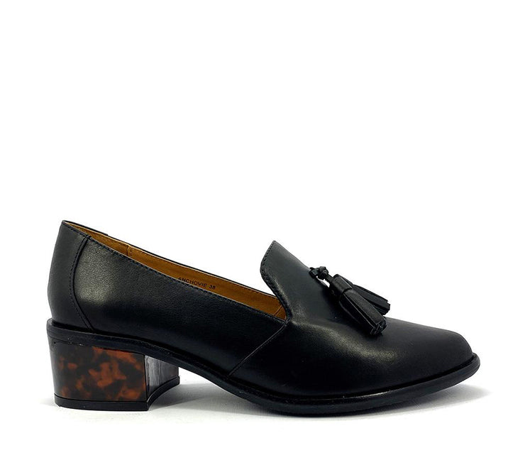 Anchovie Black detailed heel - Collectiveoutlet