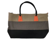 Khaki/Grey/Black Tote Bag - Collectiveoutlet