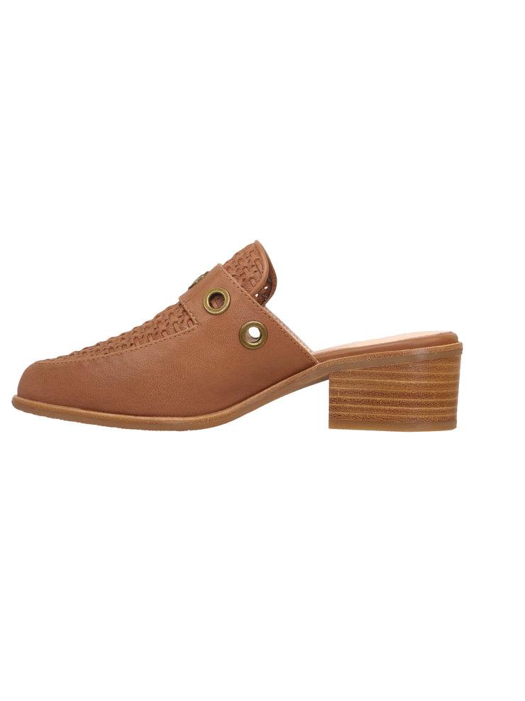 BRESLEY SPEED TAN MULE - Collectiveoutlet