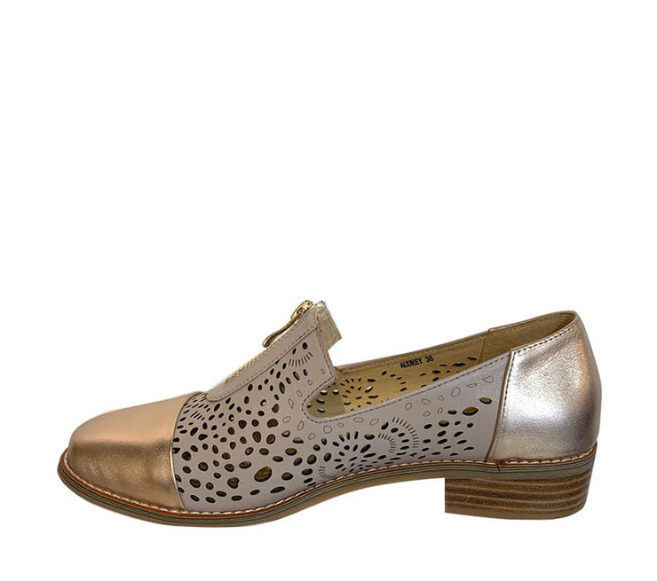 BRESLEY AUDREY NUDE/ROSE GOLD - Collectiveoutlet