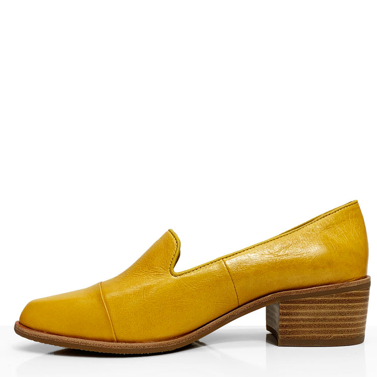 BRESLEY ANTOPO MUSTARD MIX - Collective Shoes