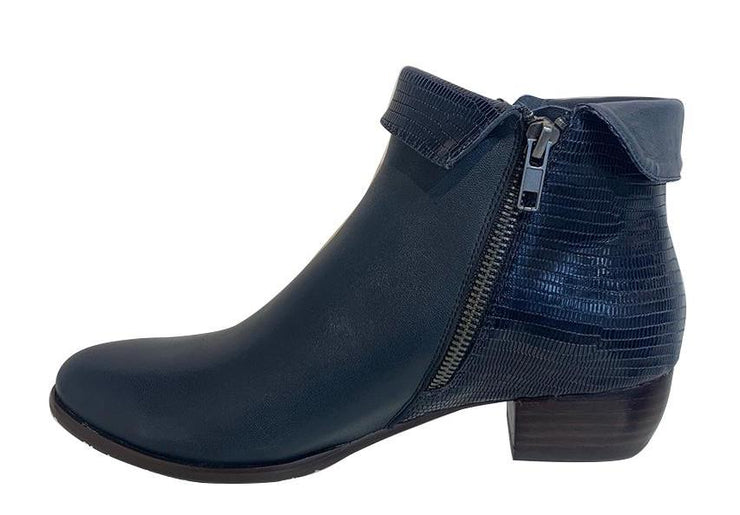 Django & Juliette Lizard Navy - Collectiveoutlet