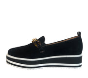 BRESLEY SKEETER BLACK SUEDE - Collectiveoutlet