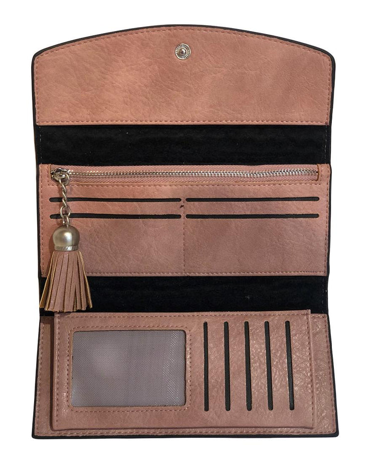 ZAGARRA BLUSH WALLET - Collectiveoutlet