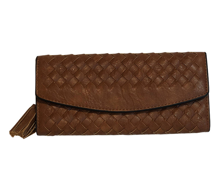 ZAGARRA BROWN WALLET - Collectiveoutlet