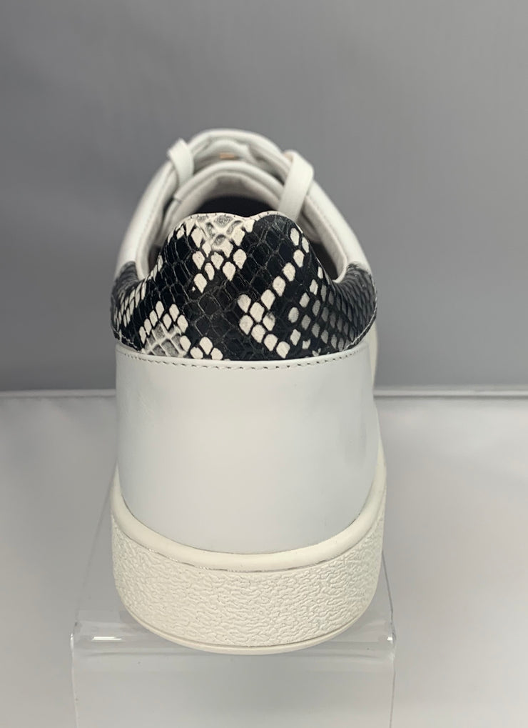 Lavish White Snake Print - Collectiveoutlet