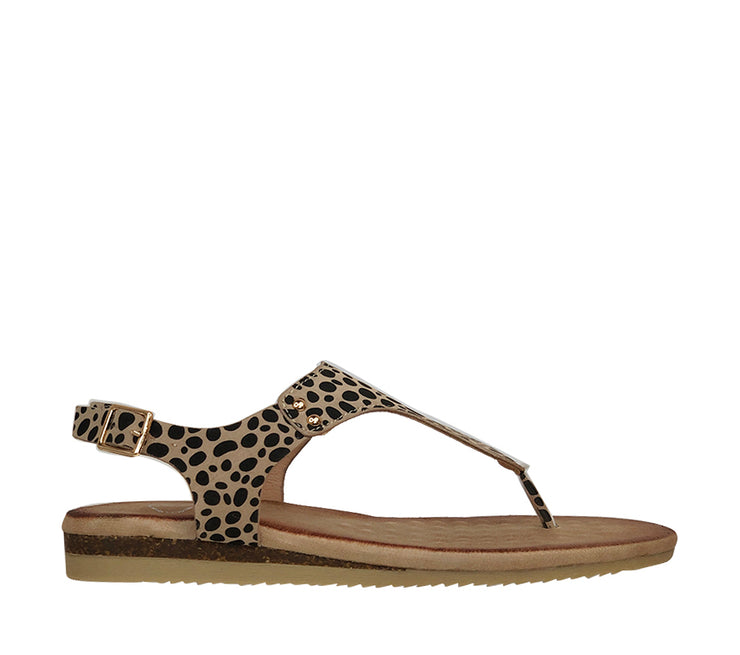 KO FASHION KHANITA BEIGE CHEETAH - Collectiveoutlet
