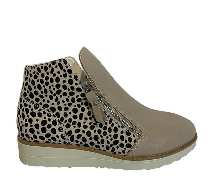 KO FASHION GADDY BLUSH/CHEETAH - Collectiveoutlet