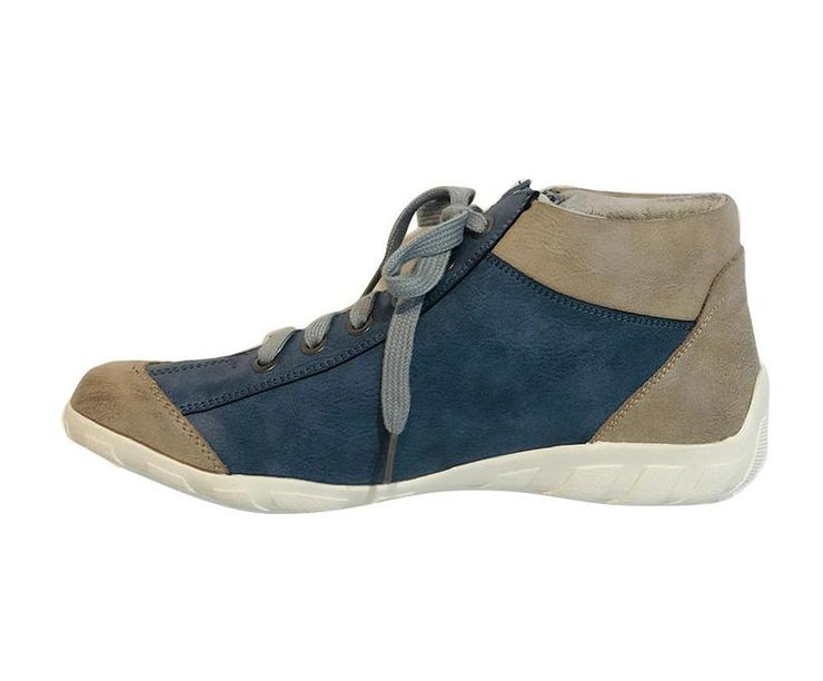 LOS CABOS DORINE NVY/TAUPE - Collective Shoes